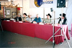 One of many panel discussions